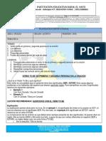5° PLANEACION SEGUNDO PERIODO INGLES