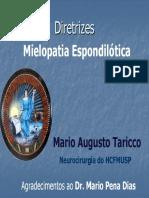 Diretrizes Mielopatia Cervical