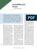 Permeabilidad de la  menbrana intestinal