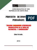 Proyecto de Innovacion Pedagógica 1