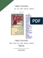 CHILE VENCERÁ Varios Autores