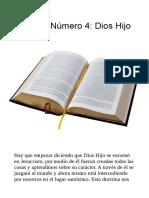doctrina 4 dios hijo resumen