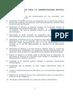 DOCE CORRECTOS PARA LA ADMINISTRACION DE MEDICAMENTOS