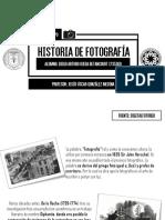 Historia de La Fotografía (Linea Del Tiempo)