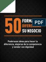 50 formas de diferenciar su negocio