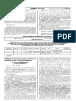 El Peruano - Official Government Newspaper