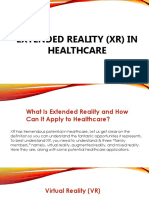 Extended Reality in HealthCare