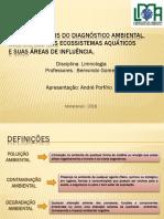 Diagnóstico Ambiental de Ecossistemas Aquáticos_Hidro_2015.2