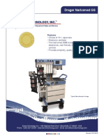 Narkomed Gs Anesthesia Machine