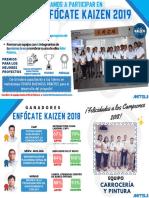 Invitacion Enfocate Kaizen 2019