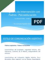 Programa de Intervención Con Padres - Psicoeducación Sesión2