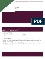 Servant Leadership (1)