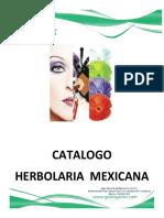 Catalogo Herbolaria Méxicana