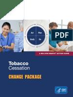 Tobacco Cessation Change Pkg