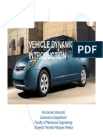 vehicle dynamics lecture 1