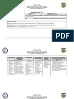 Formato Plan Clase 2017 Matematicas 8 - Tercer Periodo
