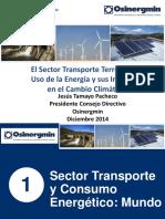 SECTOR TRANSPORTE Y CONSUMO ENERGÉTICO