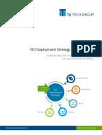 VDI Deployment Strategy