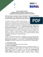 Edital Snct 2019 Popciencias