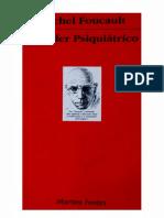 Michel Foucault o Poder Psiquiatico