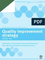 Quality Improvement Strategy 2015