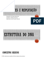 DNA Genes e Replicação