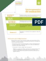 Instrumento de Evaluación - Evidencia 6