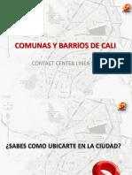Comunas y Barrios de Cali (1)