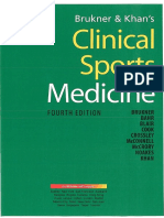 Clinical Sports Medicine (4th Edition) - Brukner, Khan