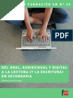 Lluc - Del Oral Audiovisual y Digital a La Lectura