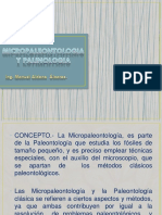 Micropaleontologia y Palinologia (1)
