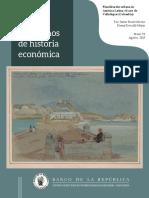 Publicación del Banco de la República