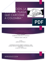 Corrupcion en Colombia Foro
