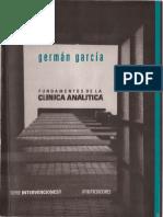 García, German (2007). Fundamentos de La Clínica Analítica. Ed. Otium
