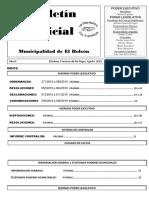 Boletín Oficial Agosto 2019 M.E.B. N° 97