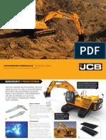 Excavadora Jcb - Js330 (Emergencia)