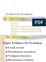 3. Evidence for Evolution
