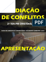 Mediação de Conflitos - Para Civis Bc