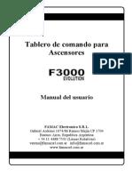 Manual Control f3000 Evo