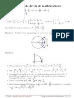 DS Trigonometrie c