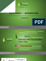 Kleen Diesel - Introduction