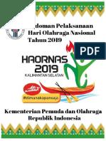Pedoman Haornas Tahun 2019 Oke