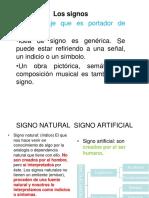 Los Signos - Signo Linguístico