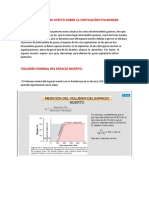 Espacio Muerto y Su Efecto Sobre La Ventilaciíon Pulmonar