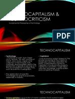 Technocapitalism & Technocriticism
