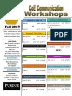 Communications workshop