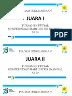 Piagam Futsal
