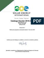 Catalogo Escolar 2019 2020.