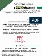 EVALUACION DE LA RENTAILIDAD DE UN SISTEMA DE EMPAQUE Y EMBALAJE PARA EXPORTACION.pptx