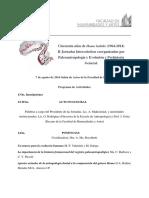 Jornadas intercatedras 2014